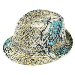 Men's Sequin Fedora Hat H5623