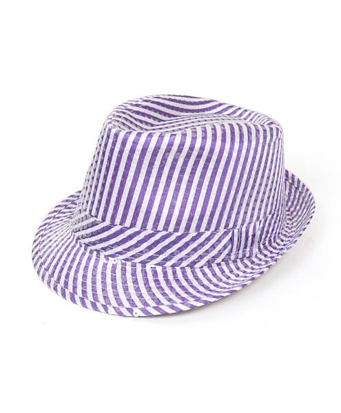 6pc Sequin Fedora Hat H5630