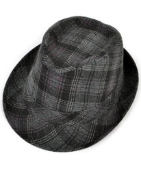 Fedora Plaid -  H0424-5657