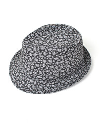 6pc Fedora Hat - Floral HT0392