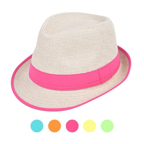 6pc Ladies Fedora Hats H7872
