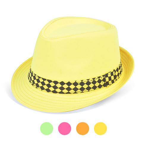 12pc Pack Assorted Ladies Fedora Hats H7912