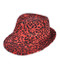 6pc Sequin Fedora Hat H10246574