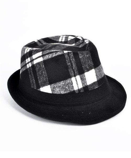 6pc Men's Fedora Hats - H7861B
