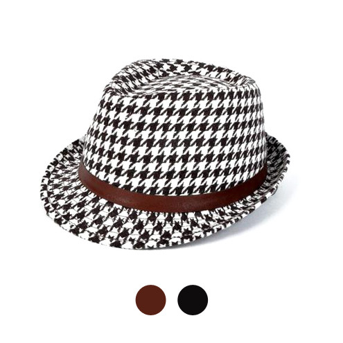 6 Pack Men's Fedora Hats - H7881