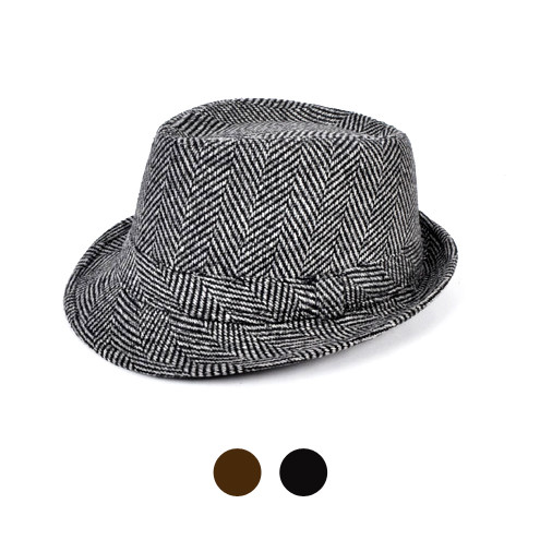 6 Pack Men's Fedora Hats - H7867