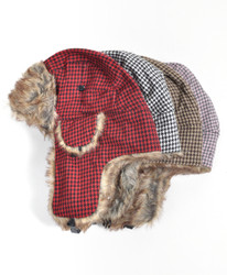 6pc Trapper Aviator Hat HT0321