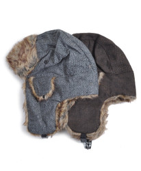 6pc Trapper Aviator Hat HT0322