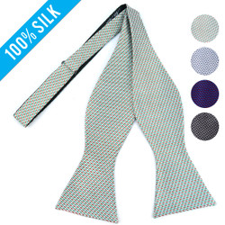 Silk Woven Freestyle Bow Tie FBS4707