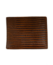 Bi-Fold Genuine Leather Wallet MLZ2446BR