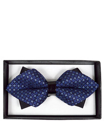 Diamond Tip Banded Bow Tie DBB3030-16
