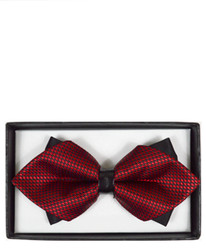 Diamond Tip Banded Bow Tie DBB3030-20