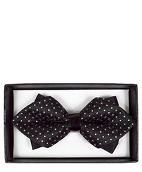 Diamond Tip Banded Bow Tie DBB3030-13