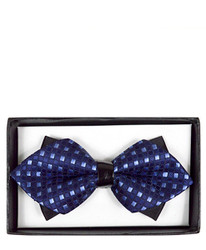 Diamond Tip Banded Bow Tie DBB3030-17