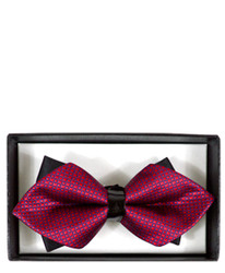 Diamond Tip Banded Bow Tie DBB3030-21