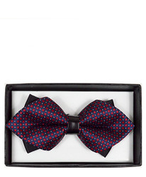 Diamond Tip Banded Bow Tie DBB3030-19