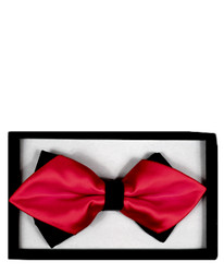 Diamond Tip Banded Bow Tie DBB3030-42