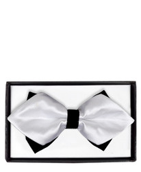 Diamond Tip Banded Bow Tie DBB3030-46
