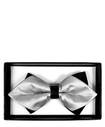 Diamond Tip Banded Bow Tie DBB3030-55