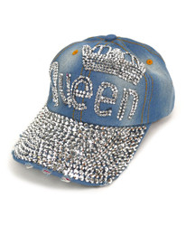 "Bling Studs Cap ""Queen"" CP9581"
