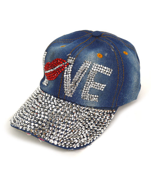 "Bling Studs Cap ""Love"" CP9583"