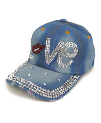 "Bling Studs Cap ""Love"" CP9587"