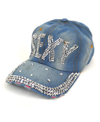 "Bling Studs Cap ""Sexy"" CP9589"