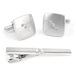 Cufflink and Tie Bar Set CTB2120