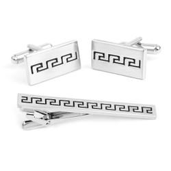 Cufflink and Tie Bar Set CTB2150