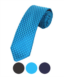 "Microfiber Poly Woven Tie SLIM 2.75"" MPWS5303"