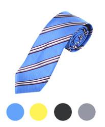"Microfiber Poly Woven Tie SLIM 2.75"" MPWS5230"
