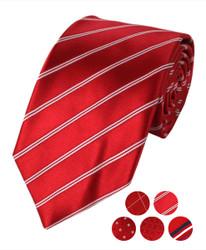 "Microfiber Poly Woven Tie SLIM 2.75"" MPWS5340"