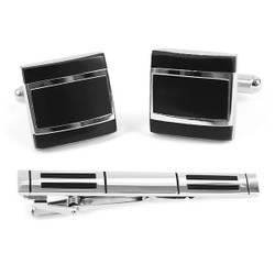 Cufflink and Tie Bar Set CTB2407