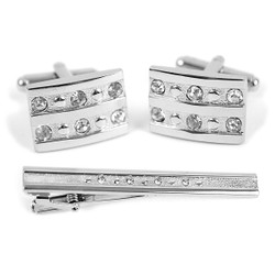 Cufflink and Tie Bar Set CTB2409