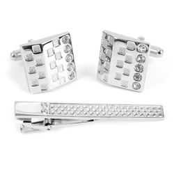 Cufflink and Tie Bar Set CTB2415