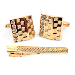 Cufflink and Tie Bar Set CTB2419