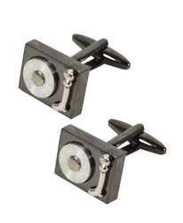 Record Player Novelty Cufflinks NCL1166
