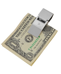 Sleek Design Zinc-Alloy Money Clip MC1020