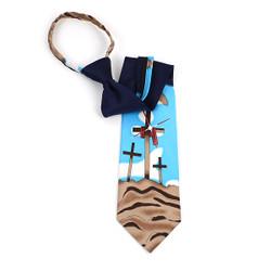 """Poly Zipper """"Cross"""" Tie PZX4436"""