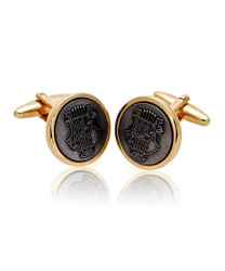 Harp Novelty Cufflinks NCL1733