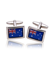 Australian Flag Novelty Cufflinks NCL3602