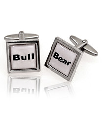 Bull/bear Novelty Cufflinks NCL3614