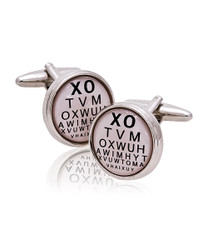 Eye Exam Novelty Cufflinks NCL3611