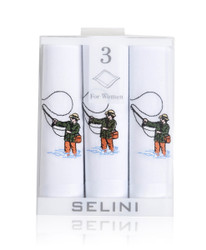 Women's Cotton Handkerchiefs (3-Pack) Fishing WEH2606