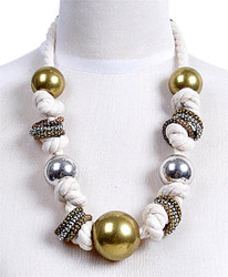 Chunky Necklace Globe - IMJJ5660