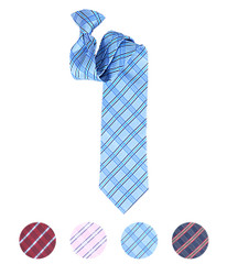 Microfiber Poly Woven Clip-On Tie - Men's 2000 MPCL2000