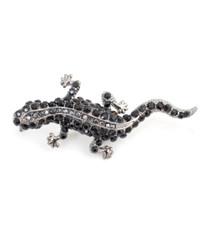Brooch - Black lizard IMBCBR03852