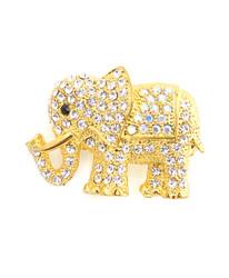 Brooch - Gold Elephant IMBCBR08892