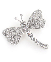 Brooch - Dragonfly Silver IMBCBR09681