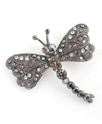 Brooch - Dragonfly Black IMBCBR09682